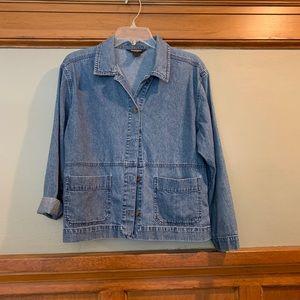Woolrich denim shirt jacket so M
